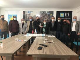 Yalovaspor Masterlardan İYİ Parti'ye ziyaret