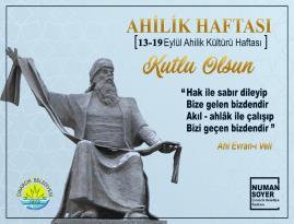 "NUMAN SOYER'DEN ""AHİLİK HAFTASI"" MESAJI"