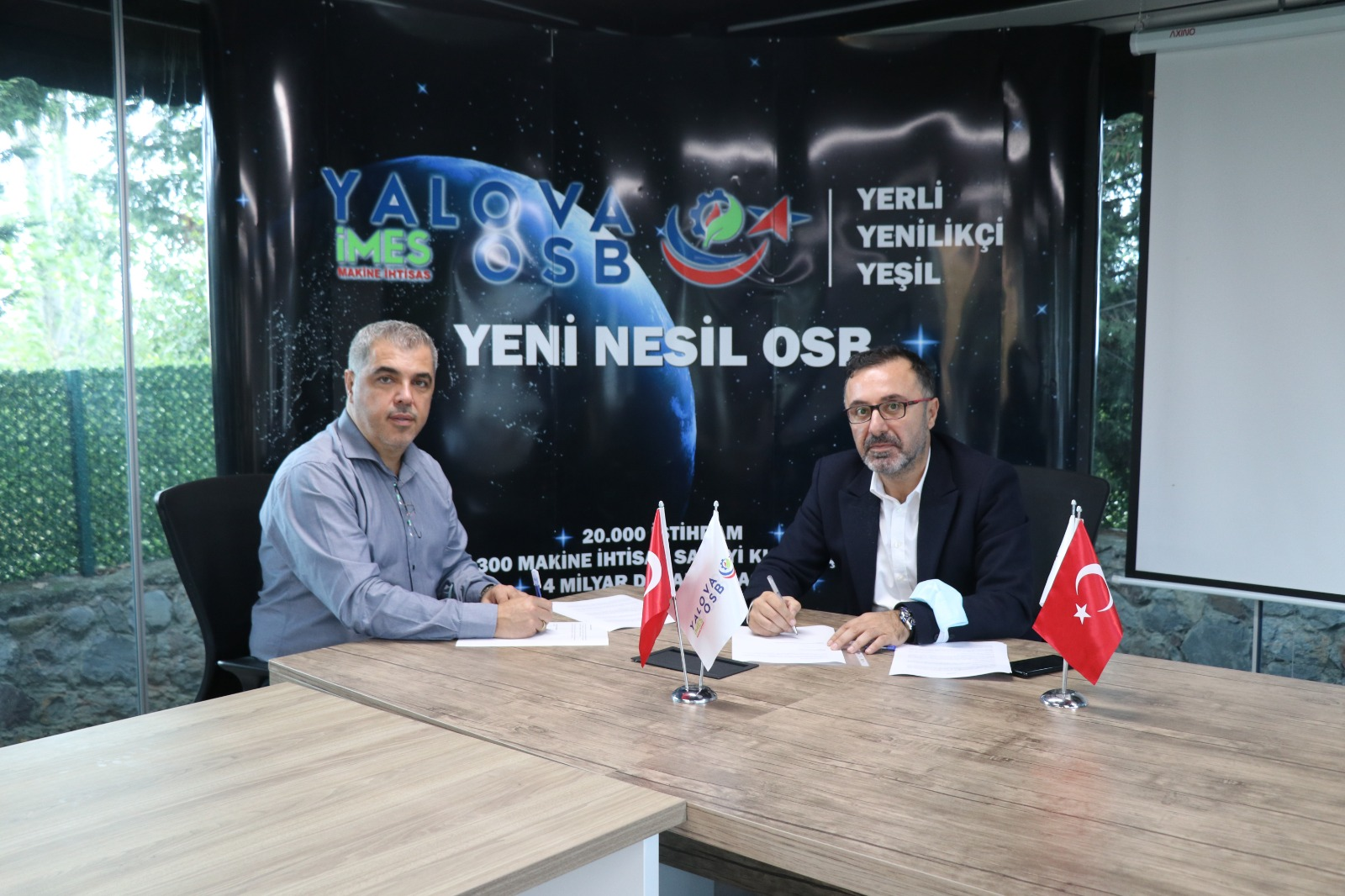 YALOVA MAKİNE İHTİSAS OSB'DEN, SEMT77 YALOVASPOR'A TAM DESTEK